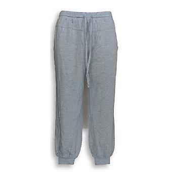 Anybody Women's Petite Pants XSP Cozy Knit Heather Blue A349794