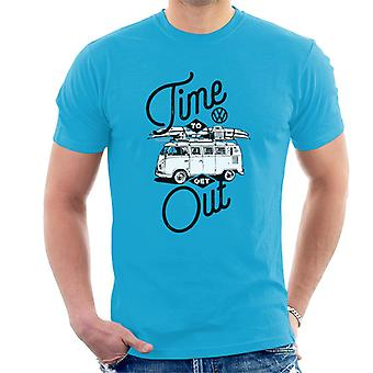 Volkswagen Time To Get Out Type 2 Camper Men's T-Shirt