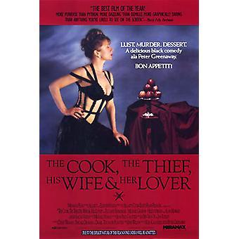 Der Koch der Dieb seine Frau & ihr Liebhaber (single Sided Regular) Original Kino Poster