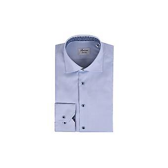 Stenstroms Fitted Long Sleeved Shirt Blue