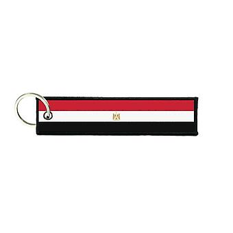 Port Cles Key Cle Homme Homme Fabric Brode Prints Egyptian Flag