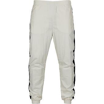 Urban Classics Men ' s Track pantaloni laterale cu dungi Crinkle