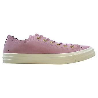 Converse Chuck Taylor All Star Ox Pink Foam/Gold-Egret Frilly Thrills 563416C Femmes-apos;s
