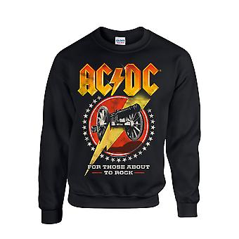 Ac / Dc for dem om at rocke nye sweatshirt sweatshirt