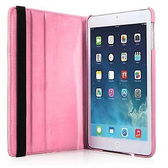 カドラボ - > アップル iPad AIR (第5世代) < 360° スタンド機能付きブックスタイルケース - BLÜTEN ROSAのケースカバーバンパー