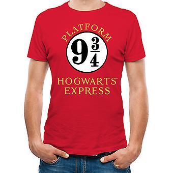 Harry Potter-Platform 9 ja 3 Quartal T-paita
