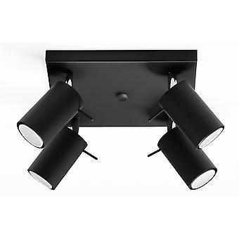 Sollux RING 4 Light Spotlight Cluster Black SL.0094