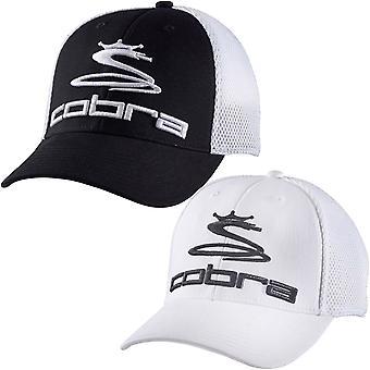 Cobra Mens Pro Tour Mesh Casual Sports Adjustable Snapback Baseball Cap Hat
