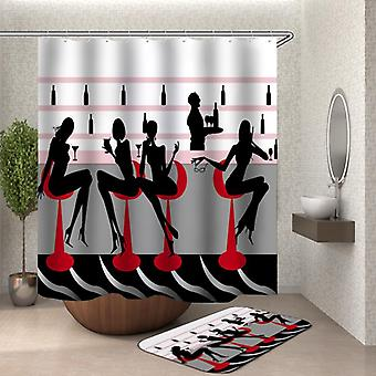 Urban Chic Ladies Shower Curtain