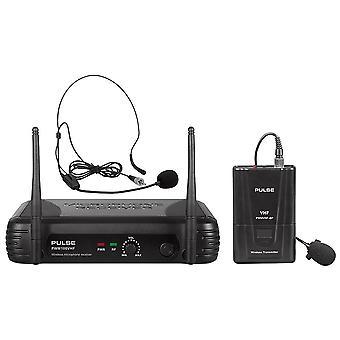 Pulse Pwm100vhf-BP VHF Beltpack ασύρματο σύστημα