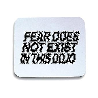 White pad mouse pad gen0593 fear does not exist