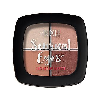 Ardell Beauty High Pigmented 4 Shade Sensual Eyeshadow Palette - 1st Love