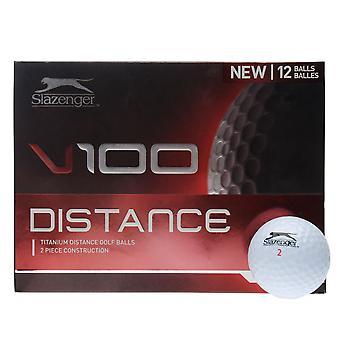 Slazenger Unisex V100 Entfernung Golf Ball 12 Pack Muster