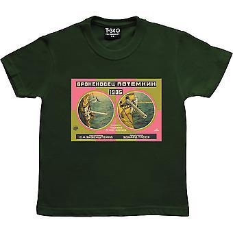 Cuiras poteéneur Potemkin Racing Green Kids-apos; T-Shirt