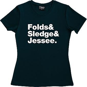 Ben Folds fünf Line-Up Marine blau Frauen's T-Shirt