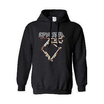Gedraaide zus bot logo hoodie
