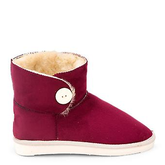Antarctica - petite women's ankle boot, red