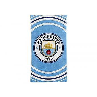 Manchester City FC Official Pulse Design Towel