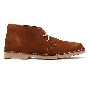 TOWER London Sahara Suede Mens Brown Boots