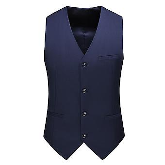 Allthemen Men 's Suit Vest V-Neck Business Casual Vest Allthemen Men 's Suit Vest V-Neck Business Casual Vest