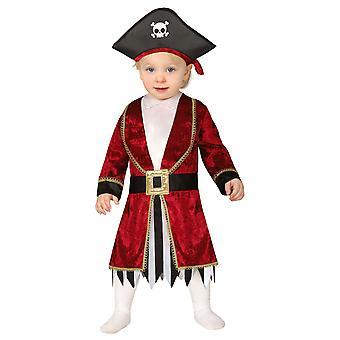Småbarn Pirate Fancy Dress Kostym