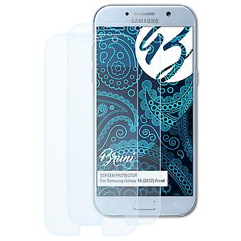 Bruni 2x Screen Protector compatible with Samsung Galaxy A5 (2017) Front Protective Film