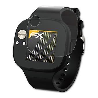 atFoliX Glass Protector compatible with Asus VivoWatch BP HC-A04 9H Hybrid-Glass