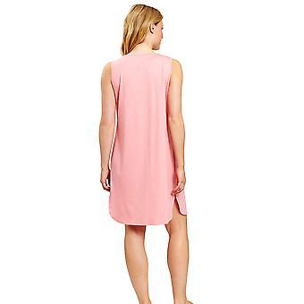 Féraud 3201017-11570 Women-apos;s High Class Hot Coral Pink Loungewear Nightdress