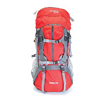 Yellowstone 55 + 5 Litre Waterproof Rucksack Red