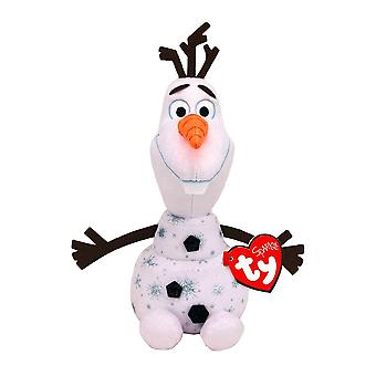 Disney Frozen Olaf TY Pipo 12&Pehmo soundilla