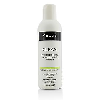 Clean micelle skin care instant cleansing solution all skin types (even sensitive) 213219 200ml/6.8oz