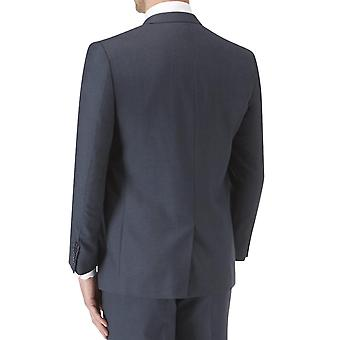 Skopes Mens Sharpe Big Tall Single Breasted Tailored Fit Suit Jacket - Blue