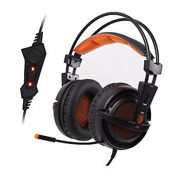 SADES A6 Gaming Headphone 7.1 Surround Headset Headphones with Microphone