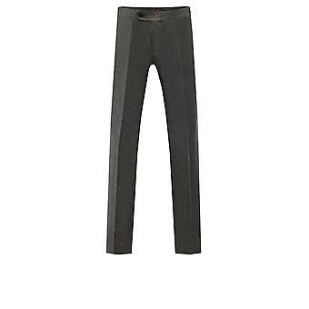 Dobell Mens Gold Shimmer Tuxedo Trousers Regular Fit