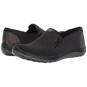 Aravon Femei ABJ02BL Fabric închis Toe Boat Pantofi