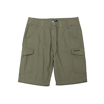 Animal Alantas Cargo Shorts in Dusty Olive Green
