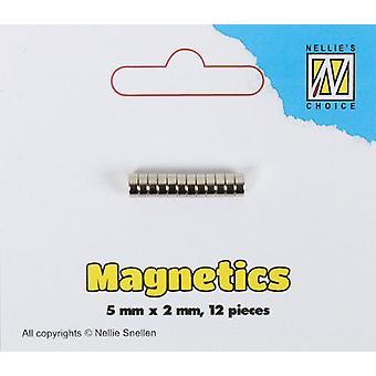 Nellie's Choice Magnets Ø 5x2mm 12 pcs STBM002 5x2mm