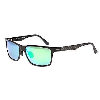 Raza Vulpecula titanio polarizado gafas de sol - bronce/azul-verde