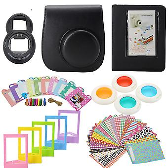 Accessory Sets for Fujifilm Instax Mini 8/9-Black