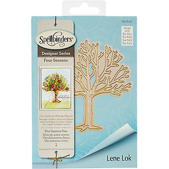 Spellbinders Shapeabilities Dies By Lene Lok - Four Seasons Tree