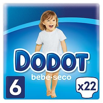 Dodot Baby Dry Diaper Size 6 of 18 Units (Baby & Toddler , Diapering , Diapers)