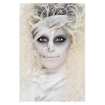 Adultos momia maquillaje kit liquid latex Halloween Face Paints