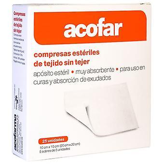 Acofarma sterila komprimerar 25 enheter