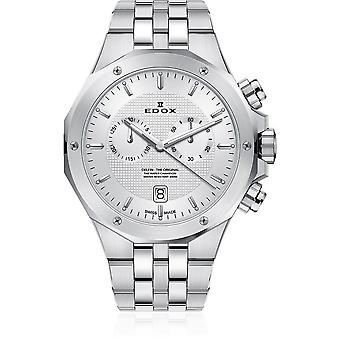 Edox - Armbandsur - Herrar - Delfin - Kronograf - 10110 3M AIN