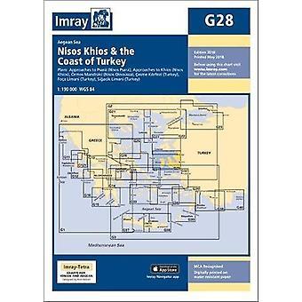 Imray Chart G28 - Nisos Khios & the Coast of Turkey by Imray - 978