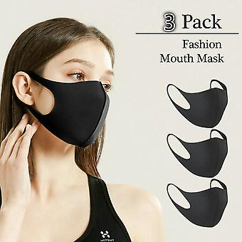 5-pack Washable Mouth Guard Face Mask Respirator