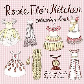 Rosie Flo's Kitchen Colouring Book - checker pink by Roz Streeten - 9