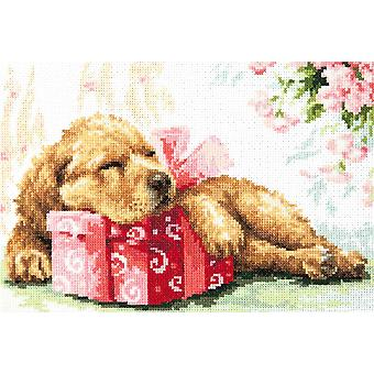 Magic Needle Cross Stitch Kit - Guarding your Gift