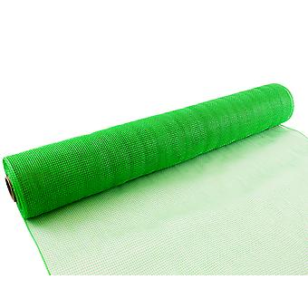 Apple Green 53cm x 9.1m Deco Mesh Roll for Wreath Making, Floristry & Crafts