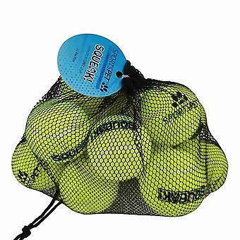 Sportspet hond piepen tennis ballen (pak van 12)